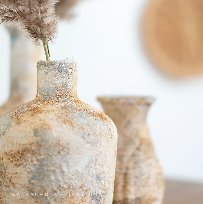 Upcycled Glass Vases Pottery Barn Hack IG