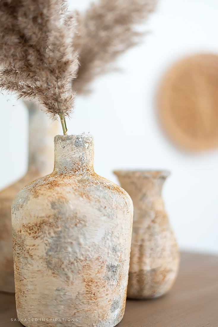 Upcycled Glass Vases Pottery Barn Hack