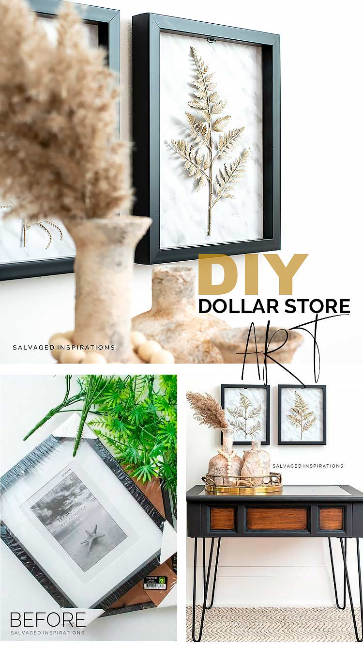 DIY Dollar Store Art PIN
