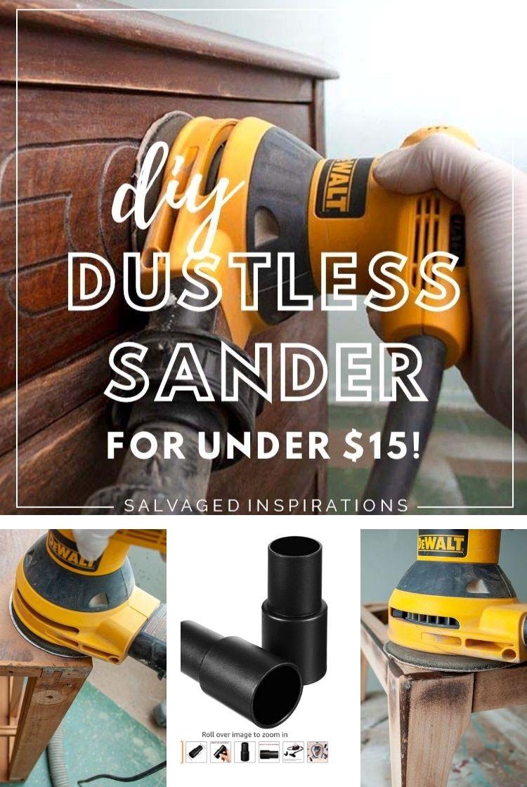 DIY Dust Free Sander