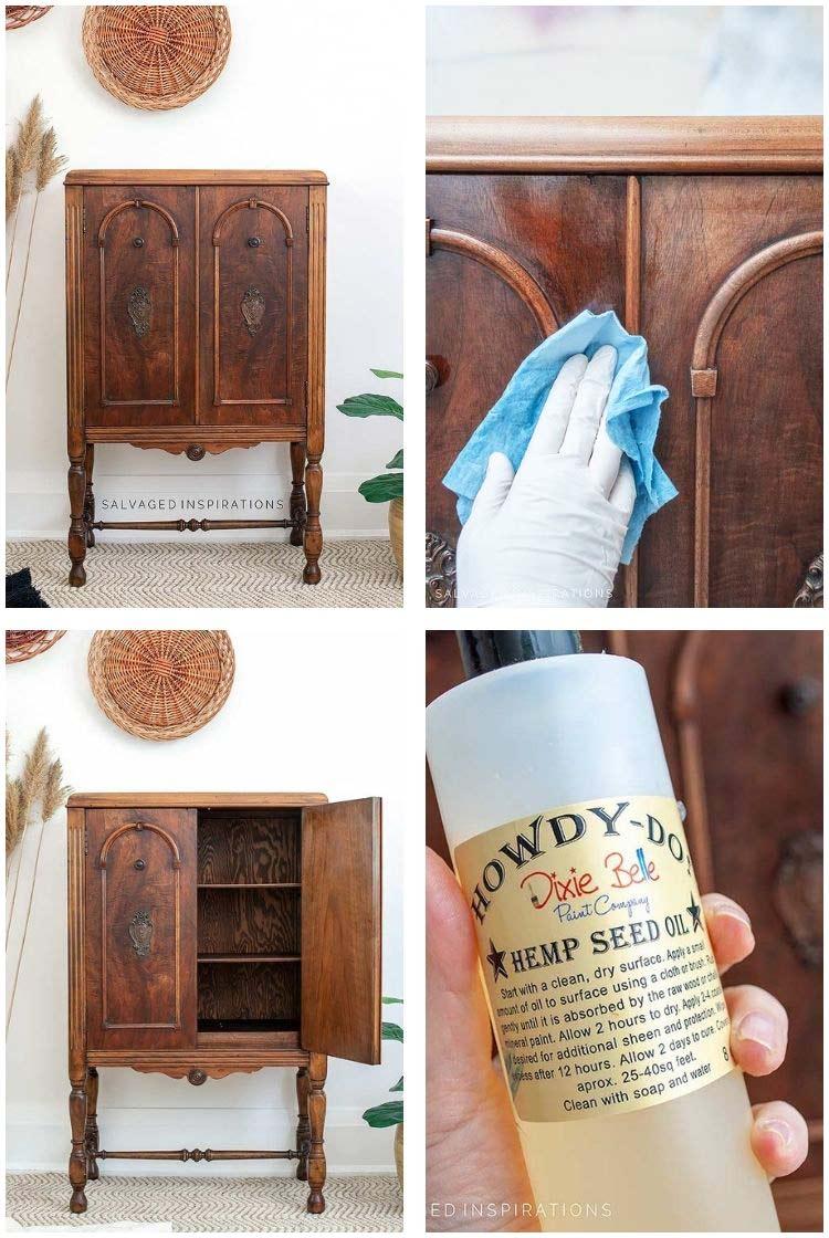 Dixie Belle Hemp Seed Oil For Furniture