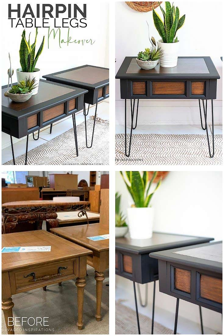 Hairpin Table Legs Collage