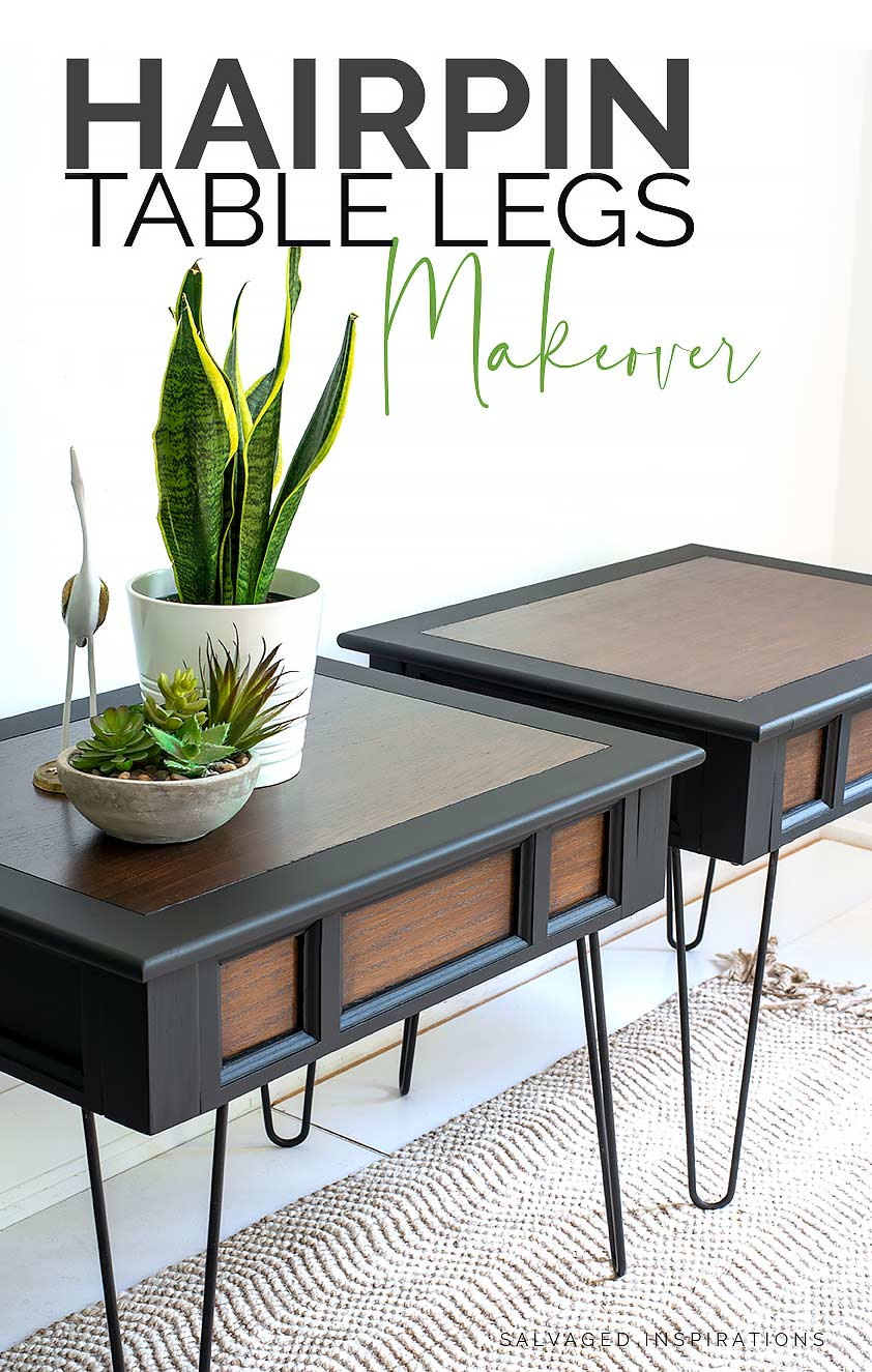 Hairpin Table Legs Makeover TXT