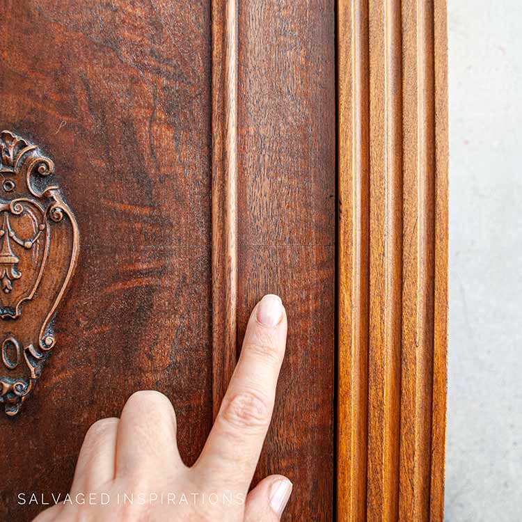 How To Replenish Dry Vintage Wood Furniture IG