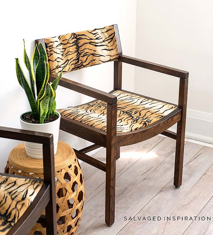 DIY ReUpholstered Chair Seats IG