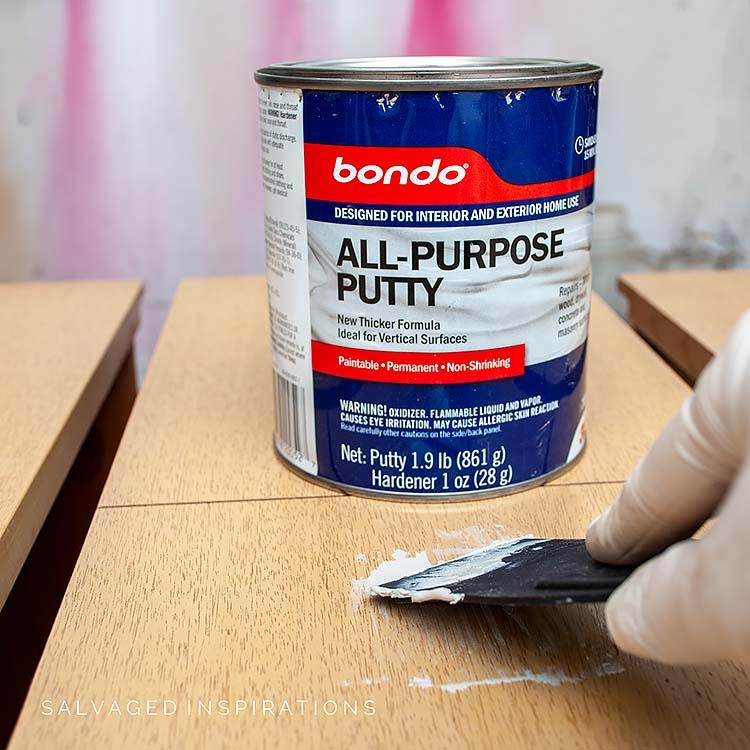Filling With Bondo
