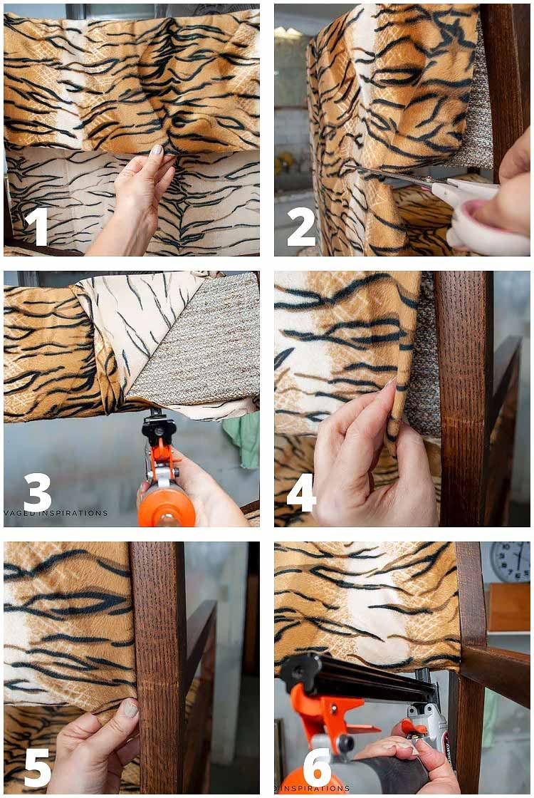 How To ReUpholster A Chair Back