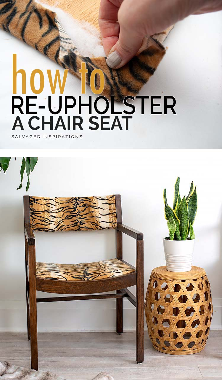 How To ReUpholster A Chair Seat PIN