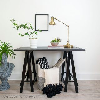 Industrial Hall Table Makeover IG