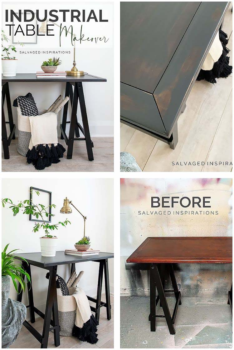 Industrial Table Collage