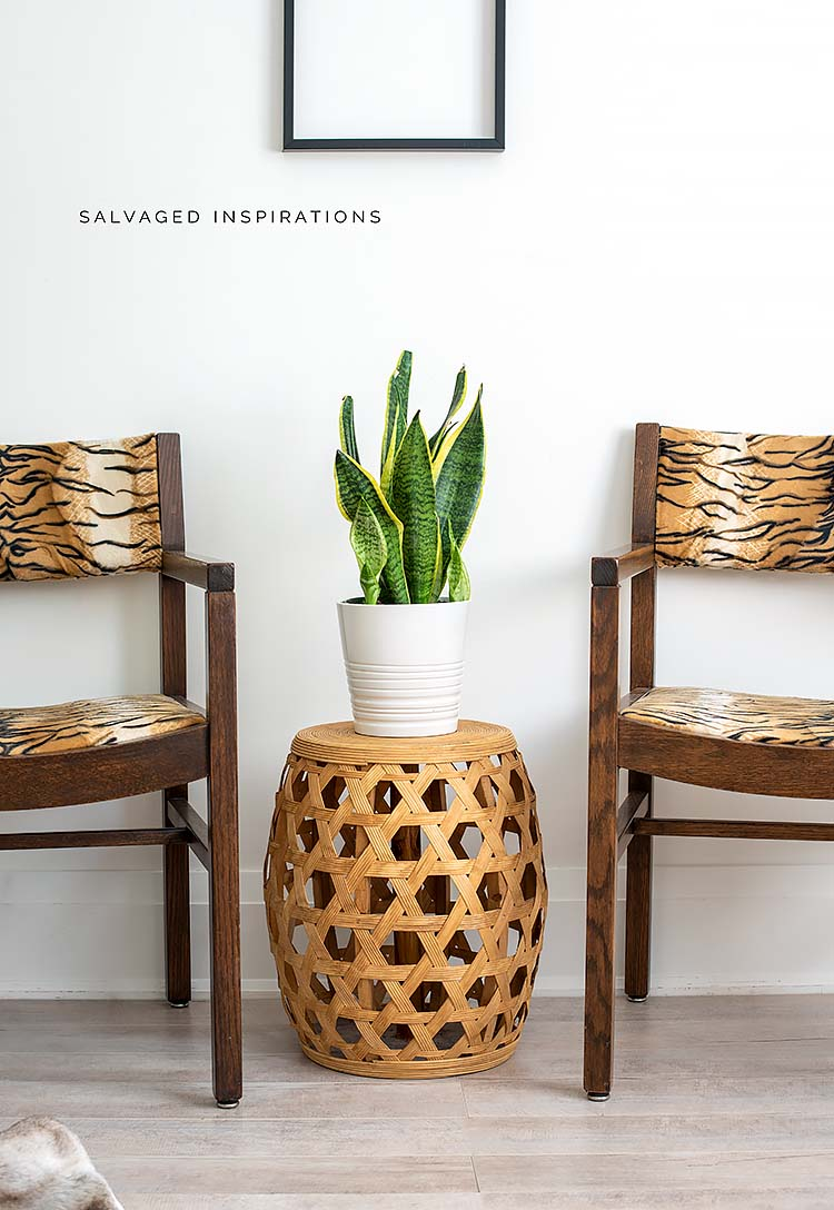 Two Occasional Chairs W DIY Upholstered Seats