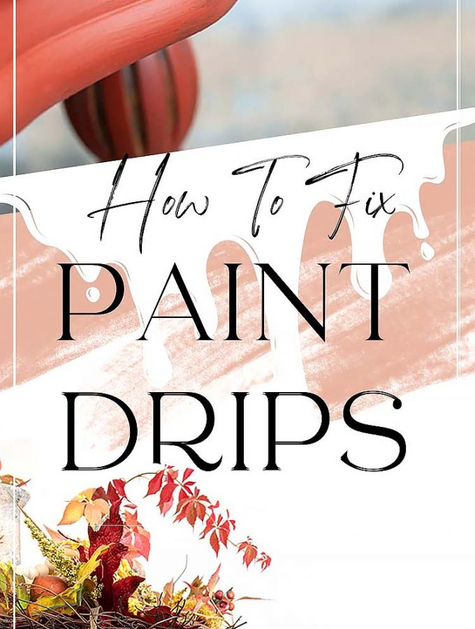 How To Fix Paint Drips PIN