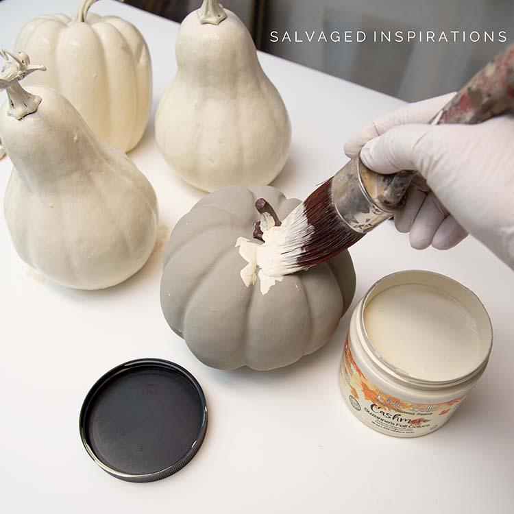 Painting Cashmere Pumpkins