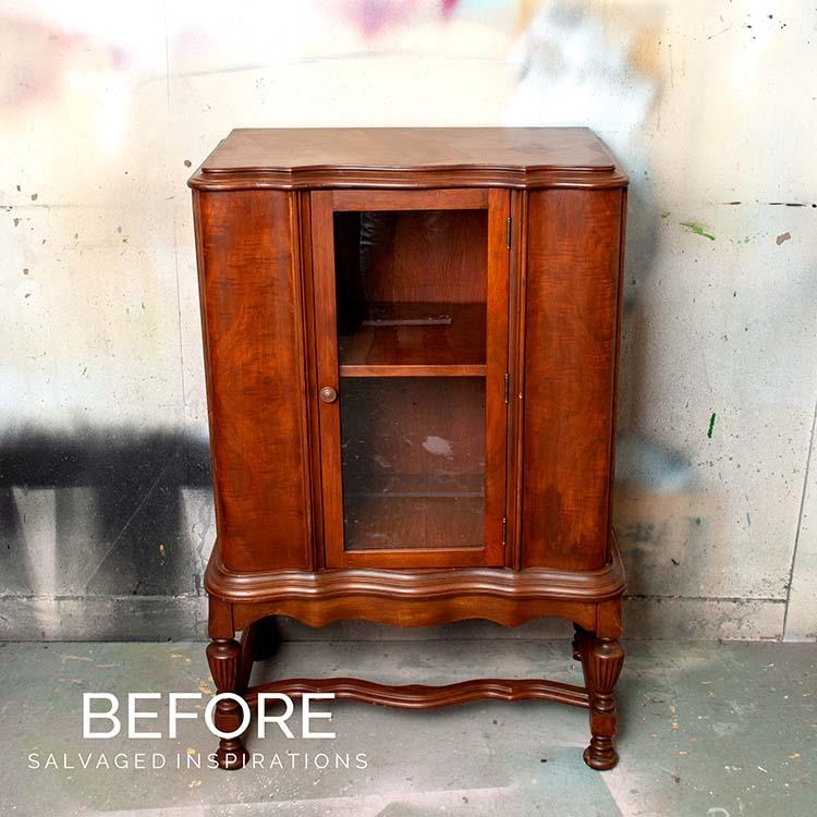 Vintage Cabinet Before